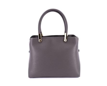Dámská kožená kabelka/batoh  Arteddy - šedá