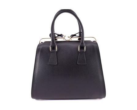 Dámská kožená kabelka Arteddy černá