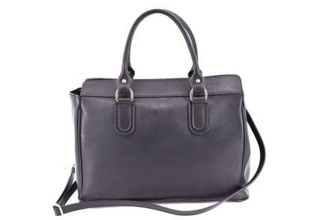 Dámská kožená kabelka Arteddy - černá