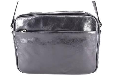 Pánská kožená taška Arteddy - černá
