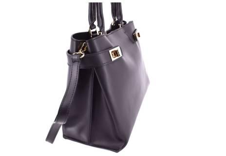 Dámská kožená kabelka Arteddy- černá