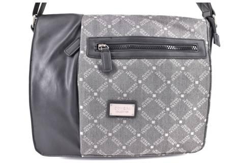 Pánská taška Coveri crossbody - černá