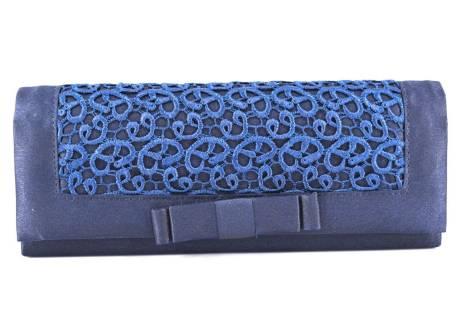 Dámská kabelka psaníčko - modrá
