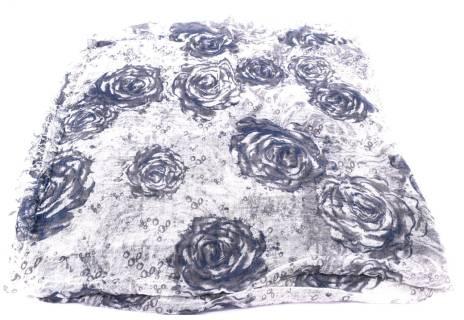 Dámský šátek s potiskem růží Arteddy