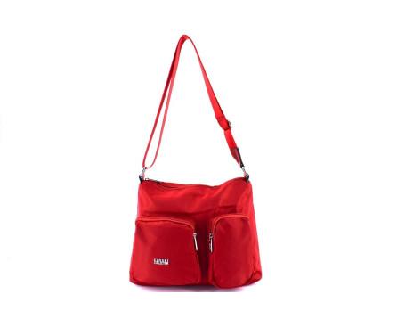 Dámská kabelka crossbody Coveri - červená