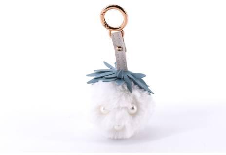 Přívěšek na kabelku nebo  klíče bambule