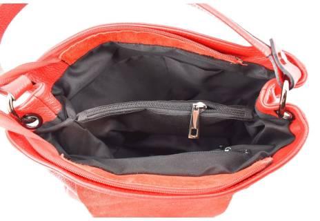 Dámská kožená  kabelka s klopnou Arteddy