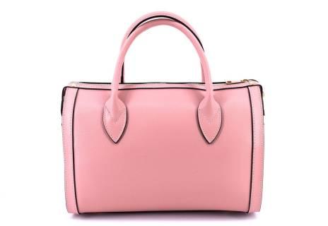 Dámská kožená kabelka Arteddy - růžová
