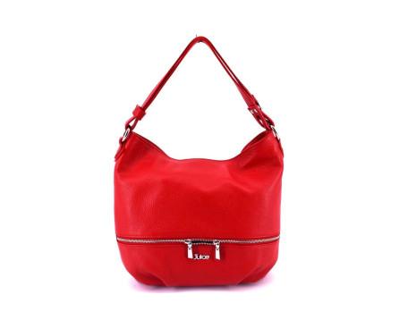 Dámská kožená kabelka Juice - červená