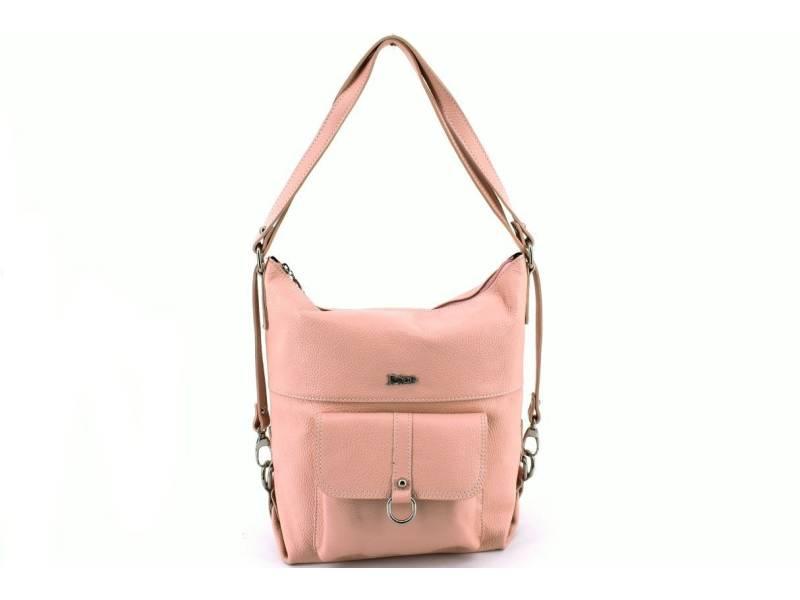 Dámská kožená kabelka a batoh v jednom Juice  a99f34210b