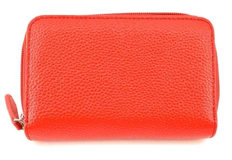Dámská kožená peněženka Arteddy - červená