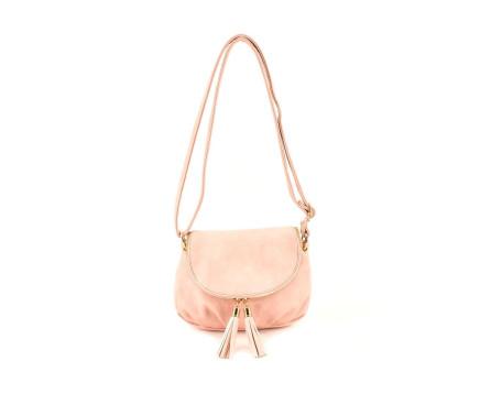 Dívčí kabelka crossbody - růžová