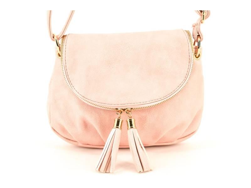 Dívčí kabelka crossbody - růžová  f47ef5ccb46