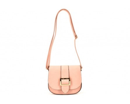 Dámská kabelka crossbody - růžová