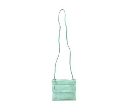 Dámská kabelka crossbody - světle modrá