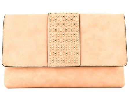Dámská kabelka psaníčko - béžová