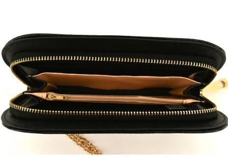 Dámská / dívčí peněženka  pouzdrového typu lakovaná
