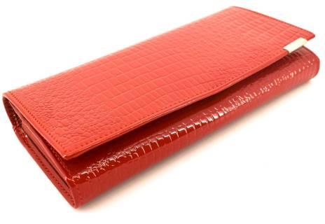 Dámská kožená lakovaná peněženka Klavier